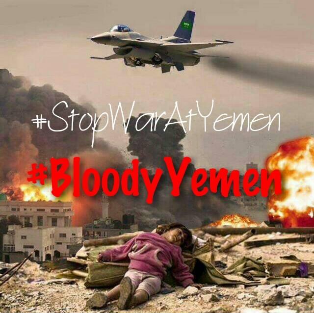 Stop war in Yemen