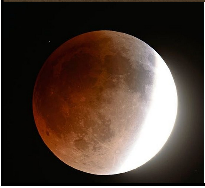 SUPER MOON 'bloody' eclipse on 27 SEPT 2015
