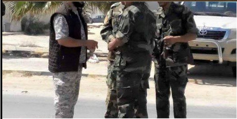 Tobruk appointed 'Military Police' are situated upon the Coastal Road from Ztun to Ras Worthy head, 1