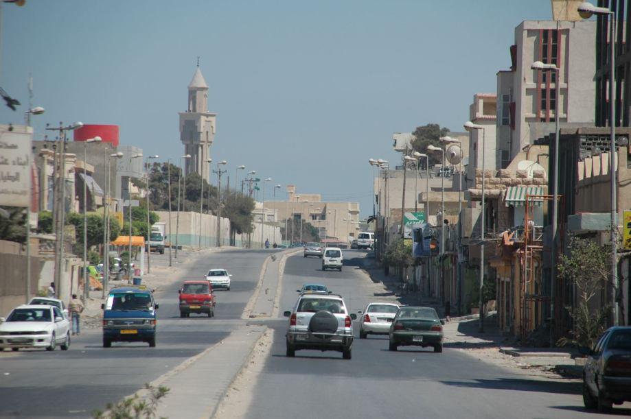 Tripoli passage into Janzour