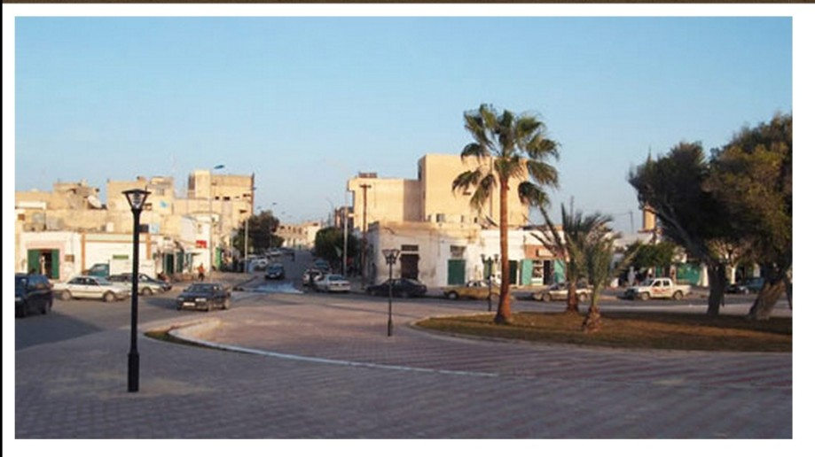 Zuwarah City-centre, Market in 2008