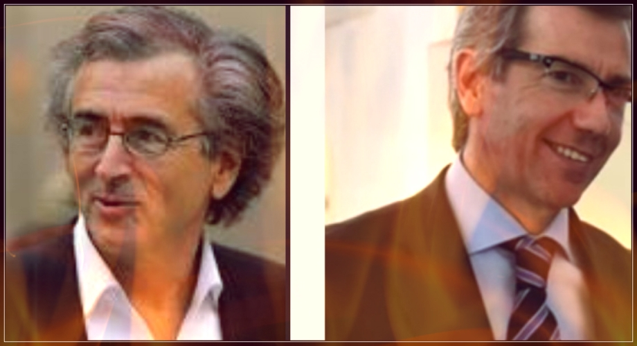 Bernard Henri-Levy and Bernardino Léon-Gross, drawn from the same poisoness bucket