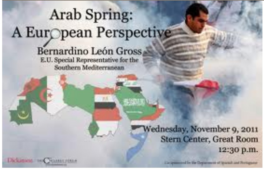 Bernardino Léon Gross and the 'Arab Spring', 09 NOV. 2011