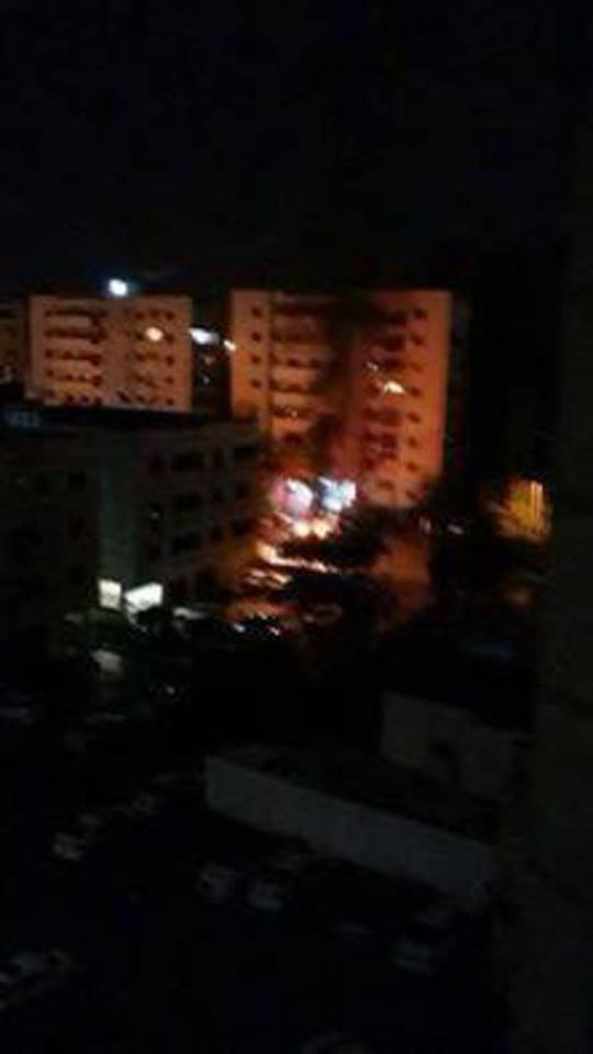 car bomb explosion at Dahmani Angle