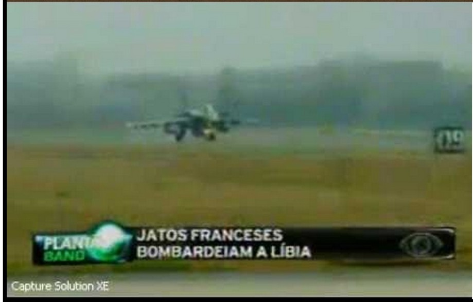 French jets were first to bomb Libya - 19 MARCH 2011