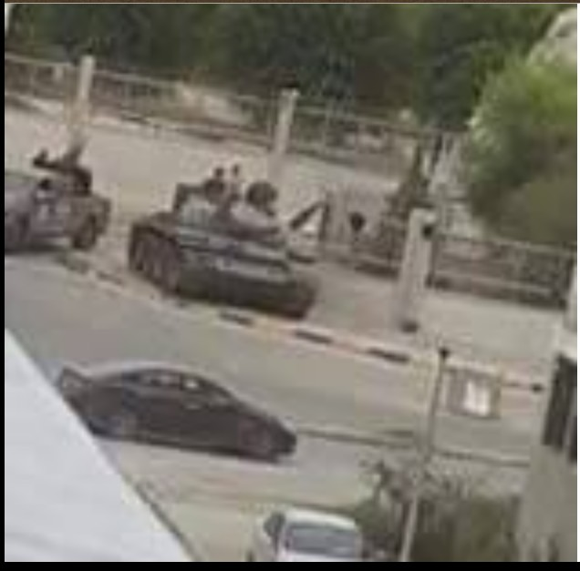 MISURATA TANKS in front of the Zoo