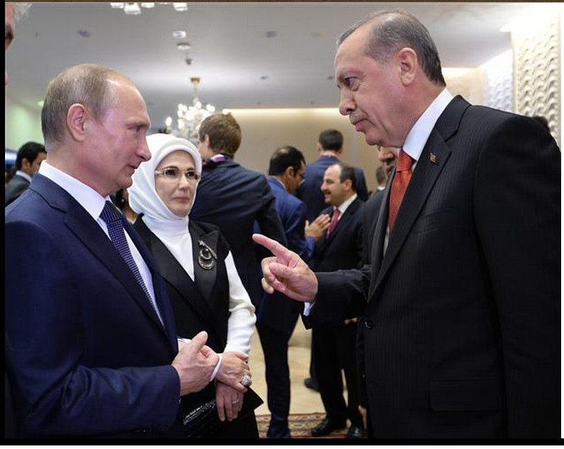 Putin vs Erdogen