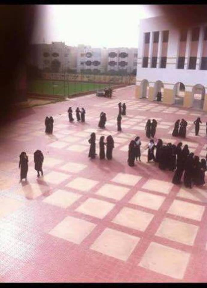 rab Revolt High School for Girls neighborhood thousand housing units, in Sirte