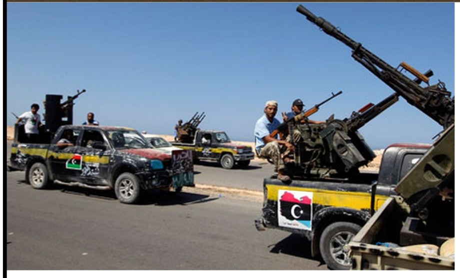 166 Misurata Militia are blocking the coastal road at Sirte.