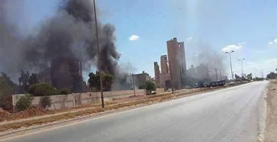 al-Asmt Hawari factory in Benghazi