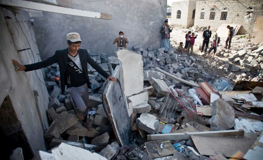 Bombing of Sana'a, Yemen by SAUDI coalition