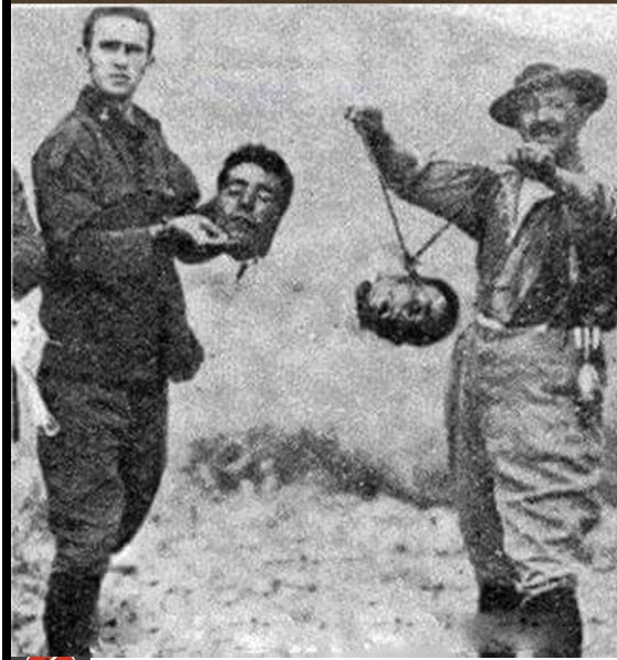 French soldiery, from what they did to the people of Algeria