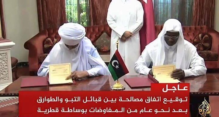 Hah on the Taureg - Tabou agreement