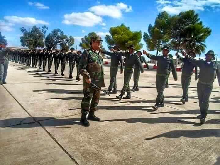 LIBYAN ARMY training in al-BRIER--CASABLANCA, 1