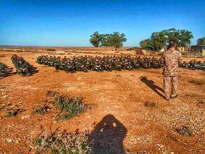 LIBYAN ARMY training in al-BRIER--CASABLANCA, 3