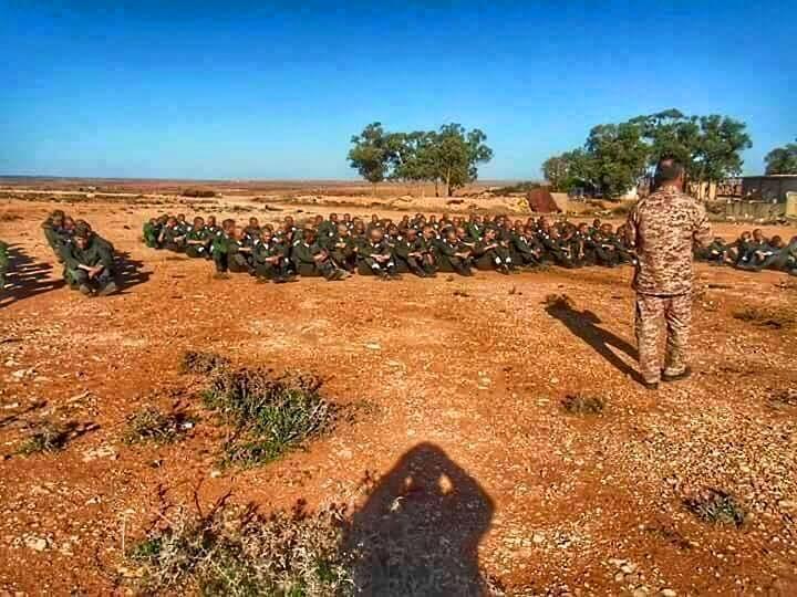 LIBYAN ARMY training in al-BRIER--CASABLANCA, 3