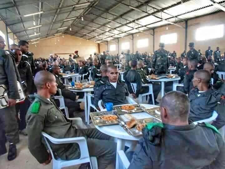 LIBYAN ARMY training in al-BRIER--CASABLANCA, 5