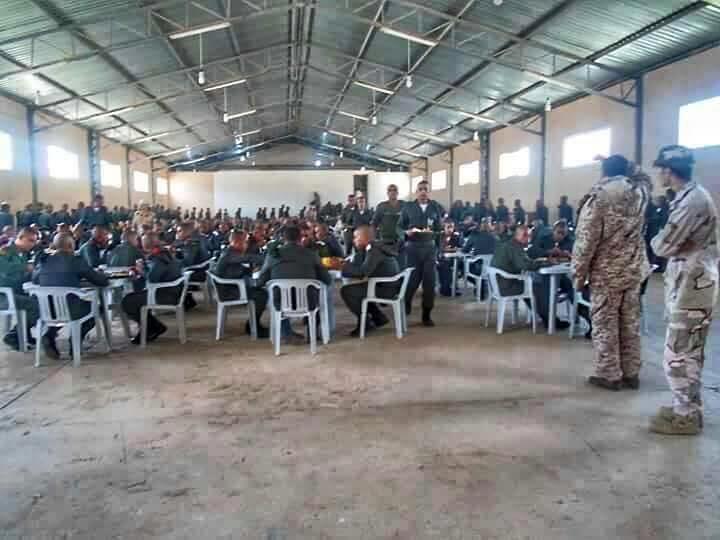 LIBYAN ARMY training in al-BRIER--CASABLANCA, 6