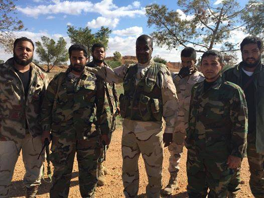 National Libyan Army in Benghazi