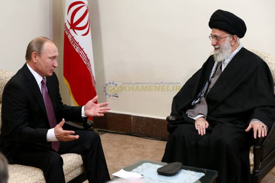 Putin and Imam Khamenei