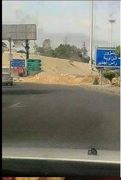 Rat militias close Coastal Road at Janzour