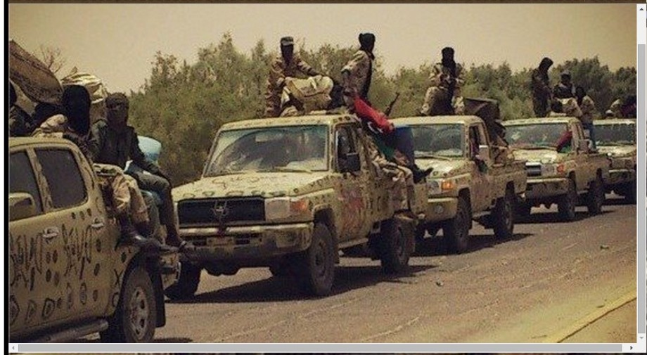 Tabou warriors of the South for the LIBYAN ARMY