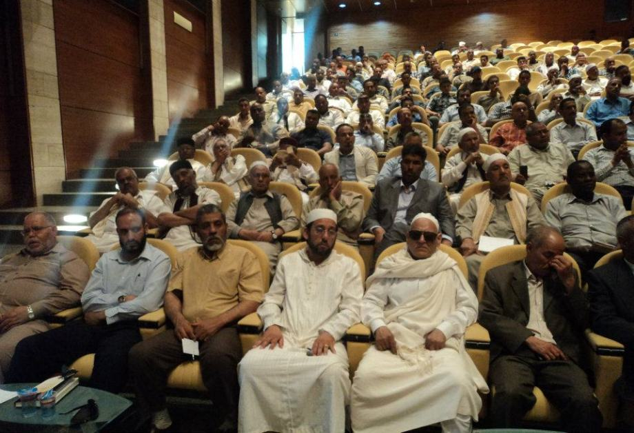 al-JUFRA BROTHERHOOD meeting with Guma el-Ghematy