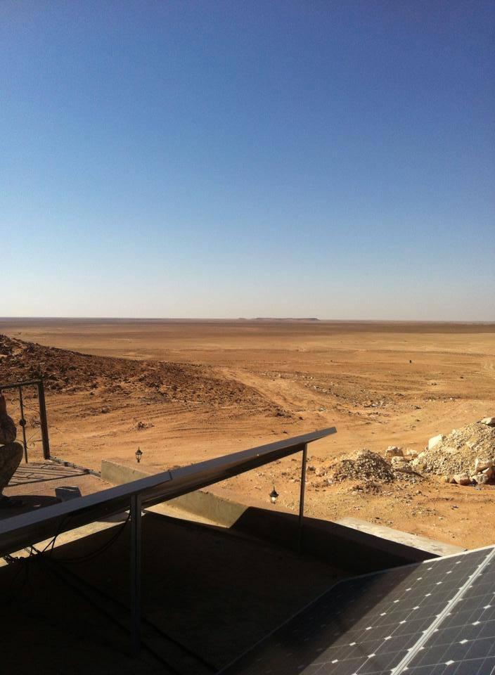 Algerian-Libyan Border, 1