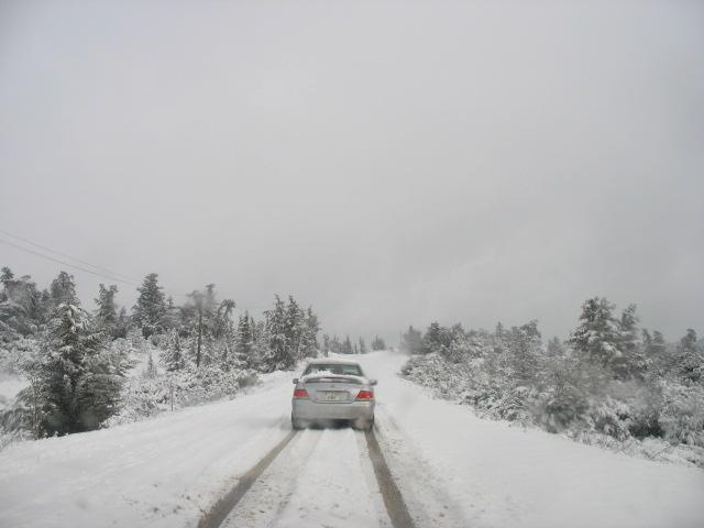 CASABLANCA - al-Bayda snow