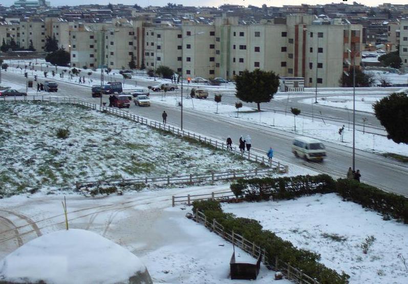 CASABLANCA - Al_Bayda_snow_