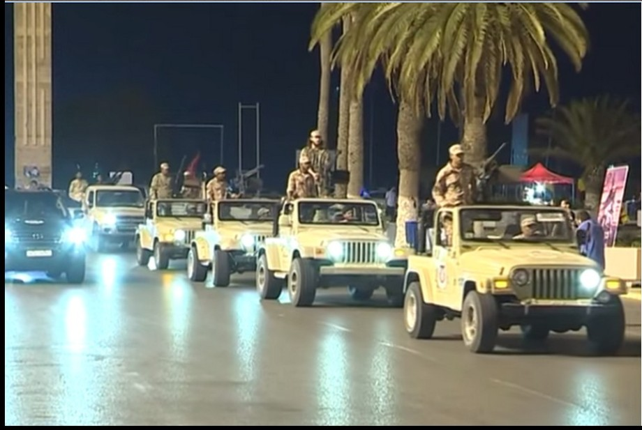 Co-alition fighting force in Tripoli