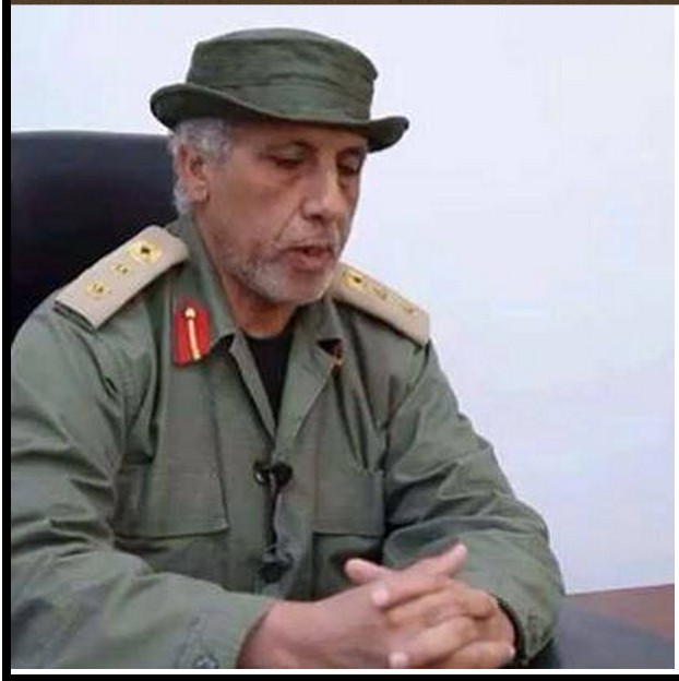 death of beloved Colonel Ali in Sidi Faraj, Benghazi