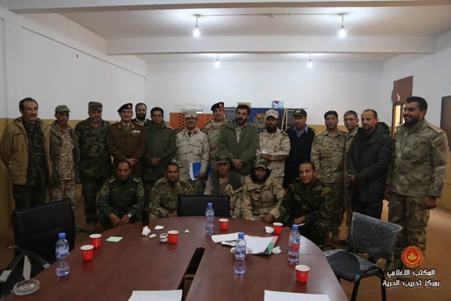 General Command, headed by 'Brigadier General Omar cuneiform' and 'Brigadier General Ramadan Attia', 1