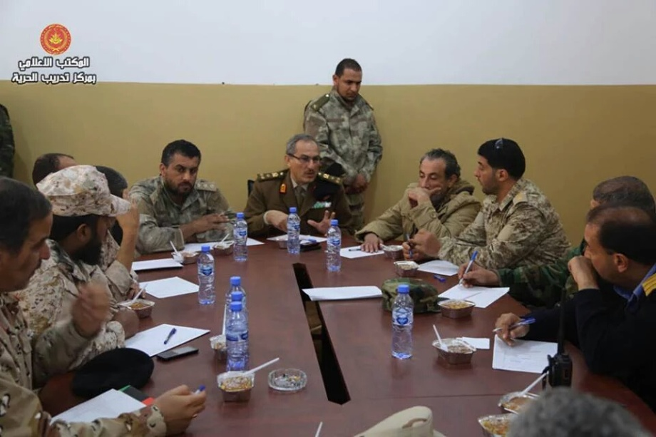 General Command, headed by 'Brigadier General Omar cuneiform' and 'Brigadier General Ramadan Attia', 2