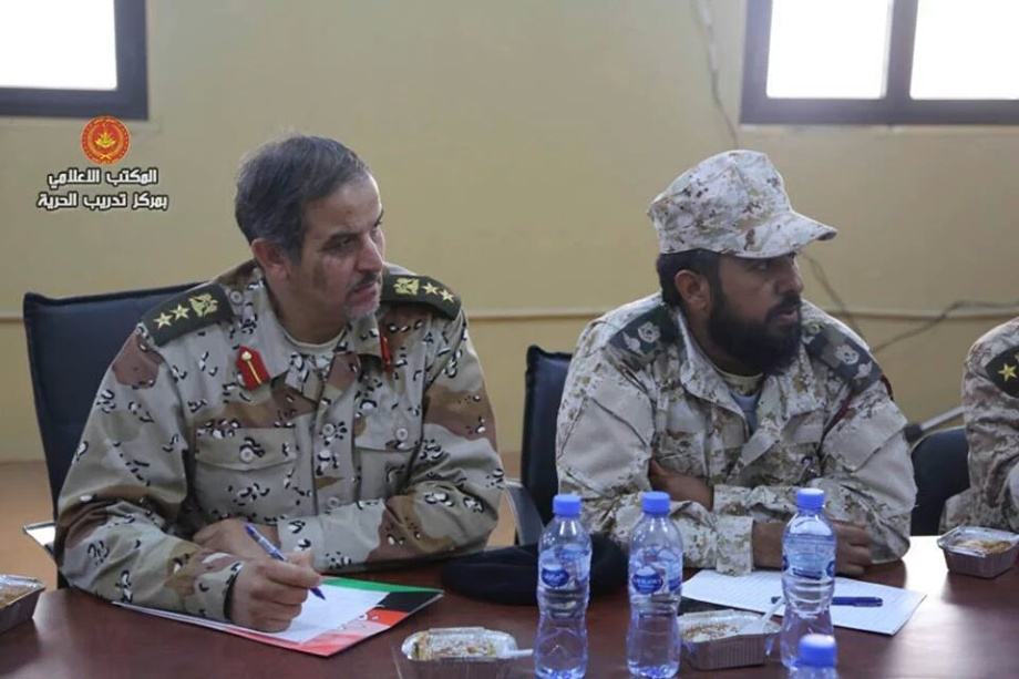 General Command, headed by 'Brigadier General Omar cuneiform' and 'Brigadier General Ramadan Attia', 3
