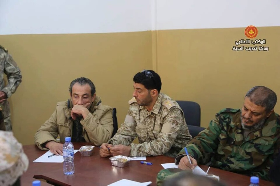 General Command, headed by 'Brigadier General Omar cuneiform' and 'Brigadier General Ramadan Attia', 4