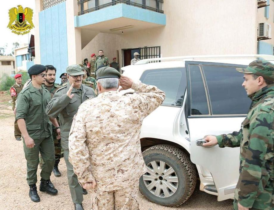General Commander in Chief, Hftar, will meet princes hubs in the city of Benghazi