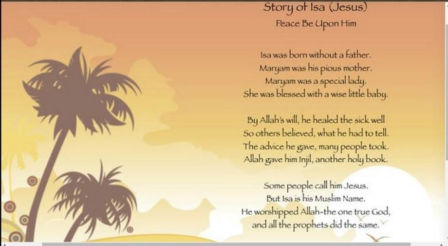 ISSA - Jesus poem