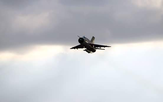 Jet fighter flies out of 'Have Built airbase', Benghazi