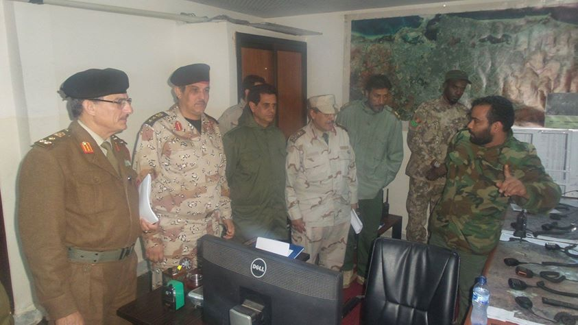 leadership of the Dignity Command of the Libyan Army