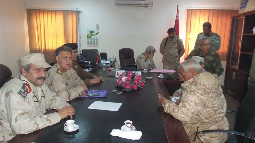 meeting of the leadership of the Dignity Command of the Libyan Army