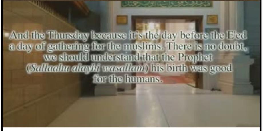 Mohammed's (PBUH) birthday