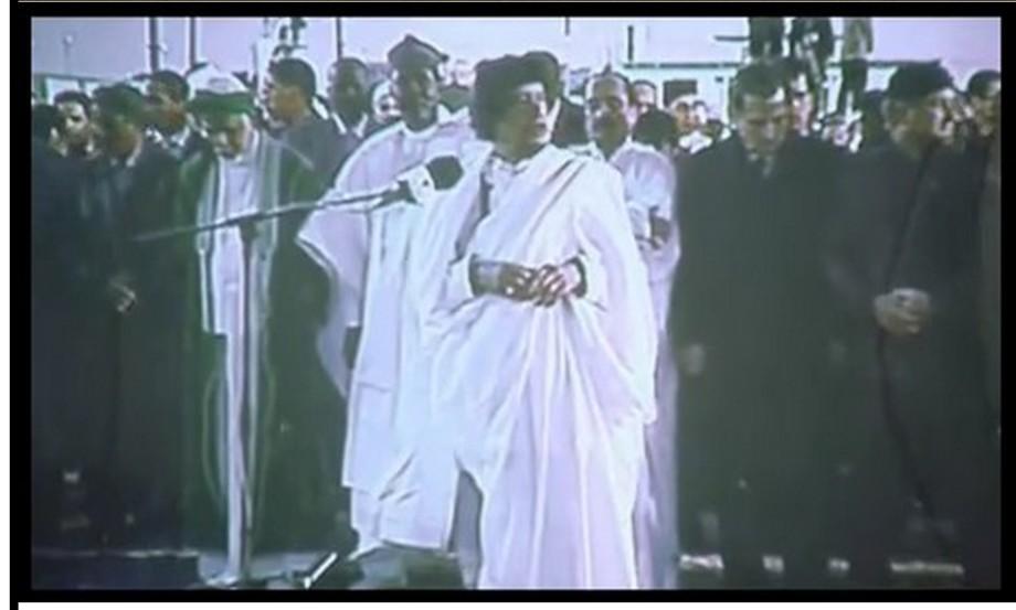 Mu'ammar celebrates Mohammed (PBUH) 28 JAN. 2011