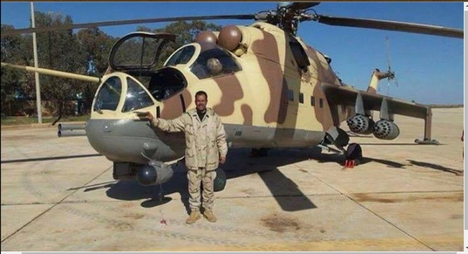 Nasser al-Hassi official spokesman room al-Umblyat dignity, Libyan Airforce