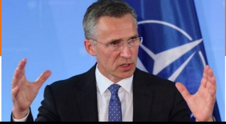 okalat Secretary-General of NATO, Jens Stoltenbarah