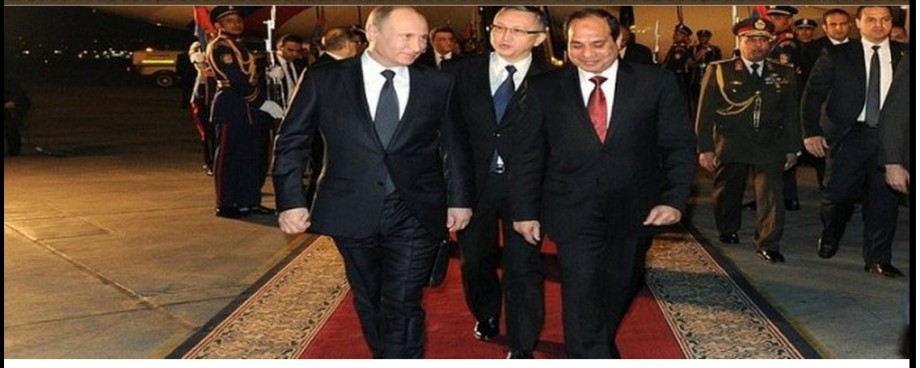 Putin and al-Sisi close allies