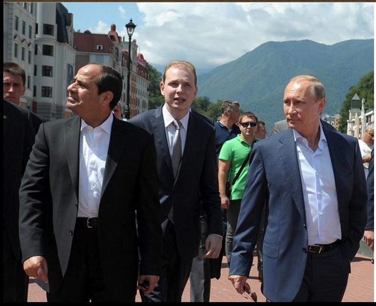 Putin and al-Sisi