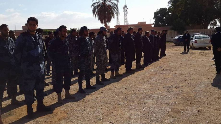 Qaminia, Salah, Benghazi Police, 2
