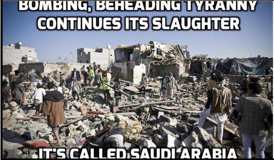 SAUDI Slaughter