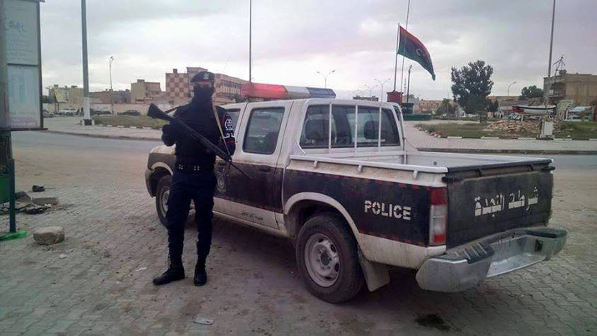 securing AJDABIYA, 2